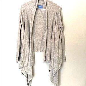 Simply Vera Vera Wang | gray long sleeve cardigan